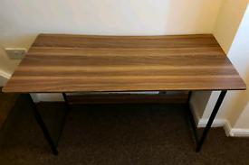 Brown Desk.