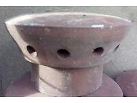 ceramic cover for chimney