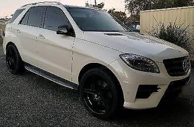2013 Mercedes-Benz ML500 (4x4) 4.7L Bi-Turbo Wagon - 7SP Auto