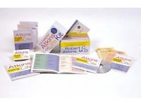 The Essential Atkins for Life Kit : Menus, Recipes, CD - Brand New in box - £5