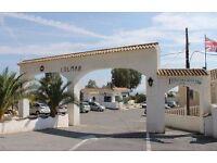 Mobile Home to rent in El Campello, (between Alacante & Benidorm) 2 Bedrooms 280 GBP per week