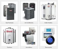 A/C, FURNACE, HUMIDIFIER, GAS PIPING, REDTAG REMOVAL & Etc.
