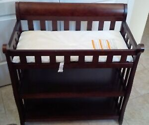 New Port Baby Change Table - Espresso colour