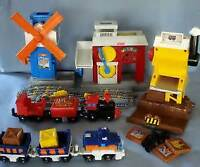 GeoTrax (fisher-price) Working Town Train Railway Playset Plus++