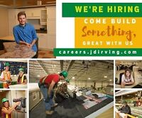 Opportunities for GENERAL LABORERS & SKILLED TRADES