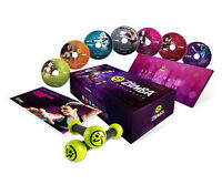 Zumba Fitness Exhilarate DVD with toning sticks