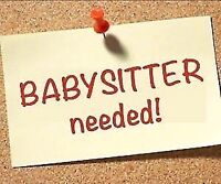 Wanted - babysitter for 7 weeks over the summer