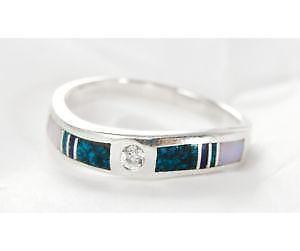 navajo turquoise rings - Navajo Wedding Rings