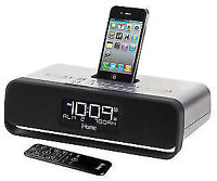 iHome clock radio, 32pin charger for iphone 4