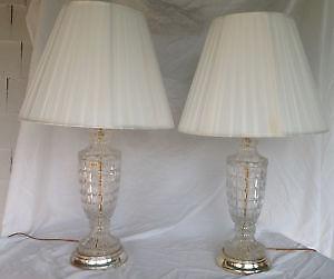 Crystal Table Lamp Ebay