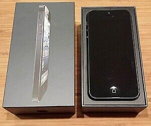 iPhone 5 black 16gb, Unlocked, Brand New in Box