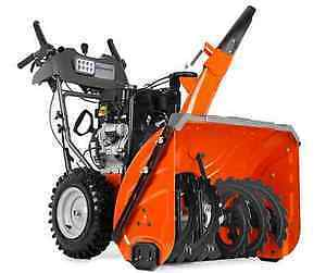 Financing Available on Husqvarna SnowBlowers! Don't Wait!!!
