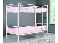 HAMPTON 3FT BUNK BED WHITE