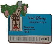 Disney Pin Tiki Room