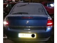Vauxhall Vectra Tailgate In Blue Breaking For Parts (2002)