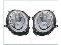 BMW MINI COOPER 2006 -2014 CLEAR HEADLIGHT HEADLAMP 1 X PAIR RIGHT AND LEFT