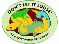 Reptile rescue/rehome