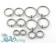 Lip Rings 14g Lot