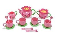 Melissa & Doug Butterfly Tea Set
