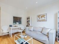 Great one double bedroom flat, W8 High Street Kensington near to tube zone 1 -no agency fees