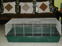 LARGE RABBIT CAGE, TRAVEL KENNEL and SUPPLIES