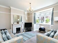 A room in a luxurious house for short let in West Norwood
