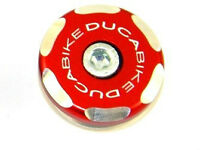 DUCABIKE Left Front Wheel Cap TRS02A - Red - New