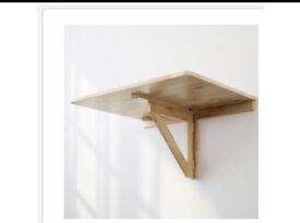 Ikea Wall-mounted drop-leaf table Birch