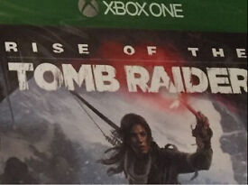 Rise of the Tomb Raider Xbox One (New and Sealed)