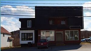 Commercial space for rent in Grand Falls, NB