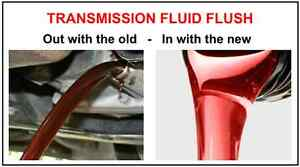 Transmission Fluid Flushes ON SALE!