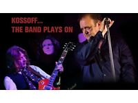 KOSSOFF - THE BAND PLAYS ON