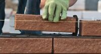 Cash paid job for bricklayer