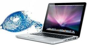 WE FIX WATER DAMAGED MACBOOK, PRO, MACBOOK PRO RETINA FOR AN AFFORDABLE PRICE!