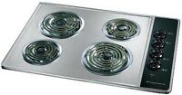Cooktop frigidaire 30 inch stainless frigidaire