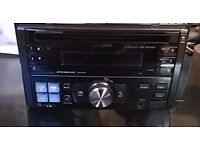 Alpine car double din cd player £30