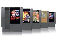 Nintendo nes games wanted