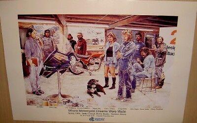 Craig Vetter Fairing 1976 Historical Origins Poster