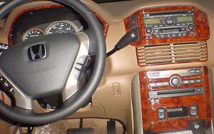 Honda Pilot 2003 2004 2005 Model Wood Dash Trim Kit