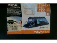 Vango Verona 6 man tent.