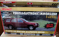 VEHICLE-ELECTRONIC IMMOBILIZER SHUTDOWN DEVICE NEW IN BOX