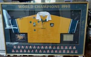 1999 Wallabies Rugby Union World Cup Squad Signed Winners Jersey Parramatta Parramatta Area Preview