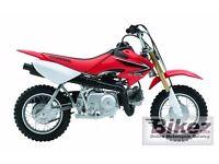 Crf 50/70 honda kids bike
