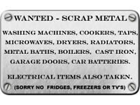 Free Scrap Metal Collection Appliances and Batteries - Fully Legal & Licenced Collector!