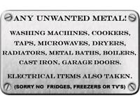 Free scrap metal and appliance collection... read pic