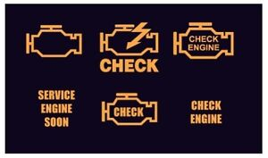 Check Engine Service ABS Traction Control Light