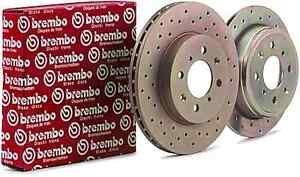 Hyundai Genesis Coupe R spec Brembo rotors (rear)