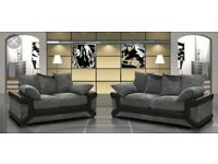 3&2 seater sofa WITH FREE FOOTSTOOL