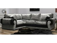 Total comfort New Sofas with FREE FOOTSTOOL