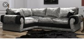 Luxury Scs New Sofa with FREE FOOTSTOOL